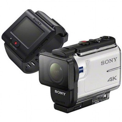 4k action cam with remote picture 1