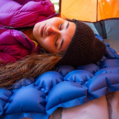 ultralight inflatable sleeping pad picture 2