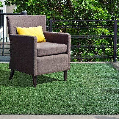 Turf Green Rectangular Area Rug picture 1