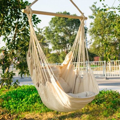 rope hammock chair picture 1