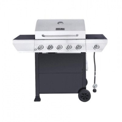 propane bbq with side burner picture 1