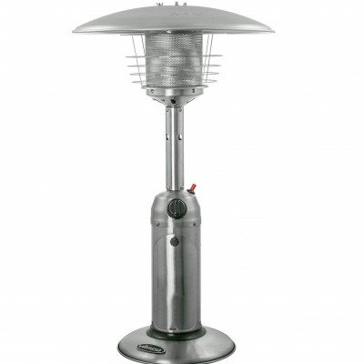 portable tabletop stainless steel patio heater picture 3