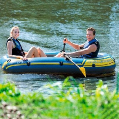inflatable 2-person boat picture 2