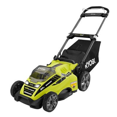 lithium-ion brushless cordless push lawn mower picture 2