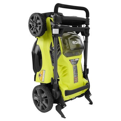 lithium-ion brushless cordless push lawn mower picture 3