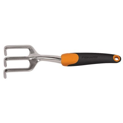 fiskars polished aluminum cultivator picture 2