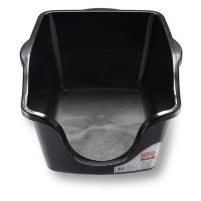 high-sided litter box