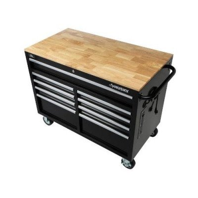 9-drawer tool chest with mobile workbench-2