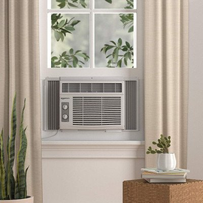 window-mounted air conditioner with mechanical control-1