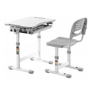 ergonomic kids chair and tilted desk-1