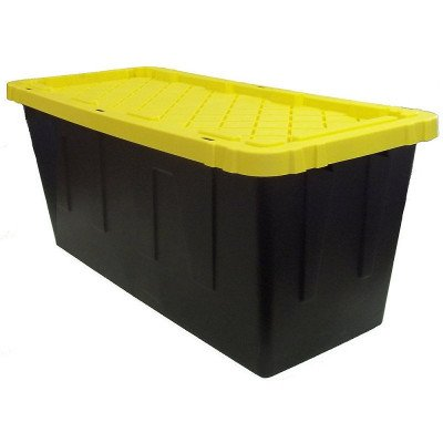strong storage bin with lid-1