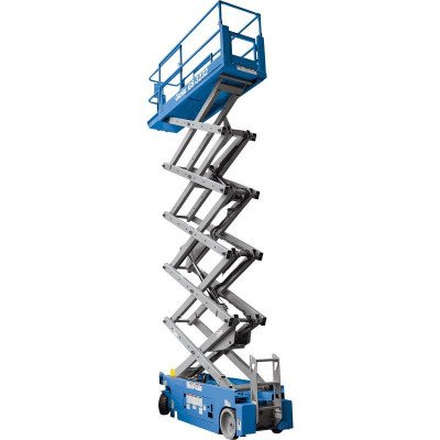 scissor lift, 30 ft.-33 ft., electric powered