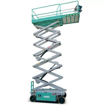 scissor lift, 24 ft.-26 ft., electric powered