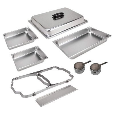foldable frame buffet chafer set picture 2