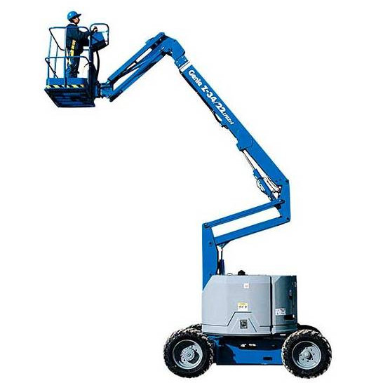 Articulating Boom Lift, 34 ft., Electric, Gas or Diesel Power Available