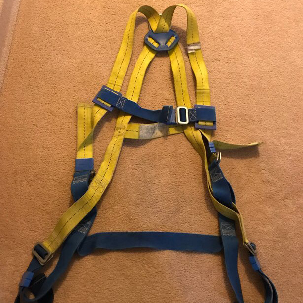 class a/ csa approved safety harness