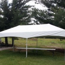 Frame tent - 10' x 20'