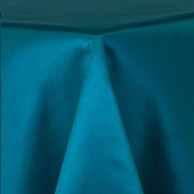 """Tablerunner Matte Satin Turquoise 12""""X108"""" picture 1"""