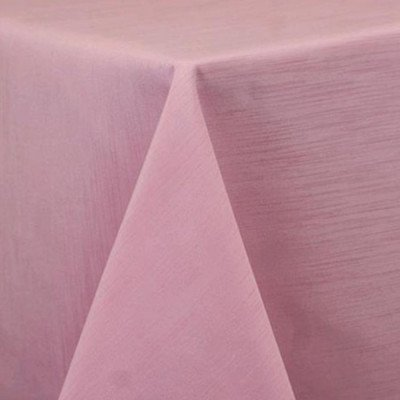 """Round Tablecloth 84"""" Majestic Light Pink picture 1"""