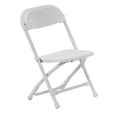 "Chair, Metal, White, 13"" Kids picture 1"