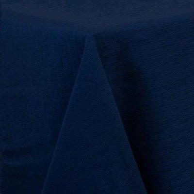 """Round Tablecloth 84"""" Majestic Navy picture 1"""