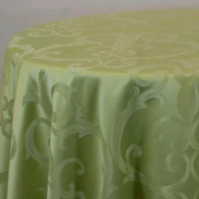 "Round Tablecloth 120"" Chopin Willow picture 1"