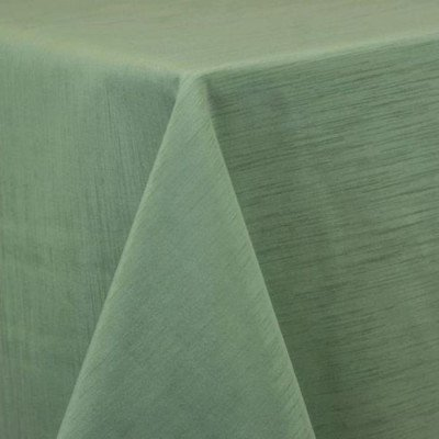 "Round Tablecloth 84"" Majestic Sage picture 1"