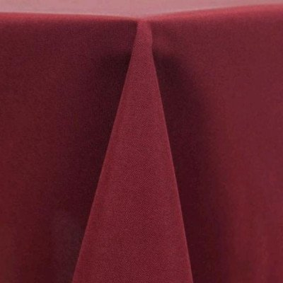 Tablecloth 90X156 Poly Burgundy picture 1