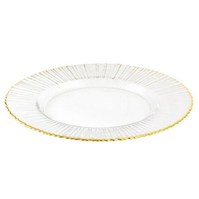 Charger Plate, Gold Ray picture 1