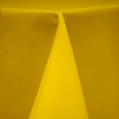 """Round Tablecloth 84"""" Poly Lemon picture 1"""