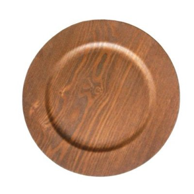 Charger Plate, Wood picture 1