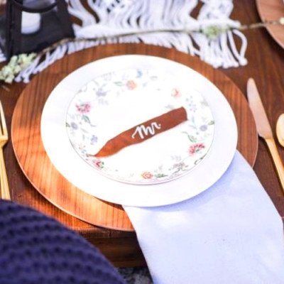 Charger Plate, Wood picture 2