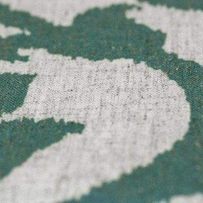 """Round Tablecloth 120"""" Ikat Raw Silk picture 2"""