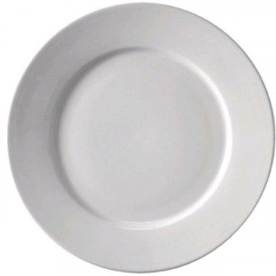 """Plate, 10 1-2"""" Dinner Bright White picture 1"""
