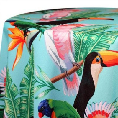 """Round Tablecloth 120"""" Key West picture 1"""