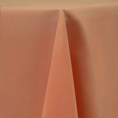 """Tablerunner Poly Peach 12"""" X 108"""" picture 1"""