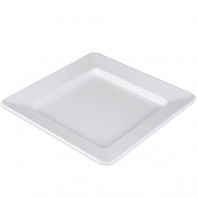 """Plate, 6 1-4"""" Bread and Butter White Square picture 2"""