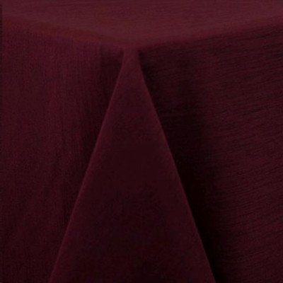 """Round Tablecloth 120"""" Majestic Burgundy picture 1"""