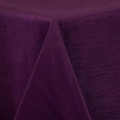 """Round Tablecloth 120"""" Majestic Eggplant picture 1"""