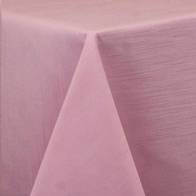 """Round Tablecloth 120"""" Majestic Light Pink picture 1"""