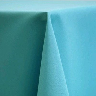 Tablecloth 90X156 Poly Turquoise picture 1