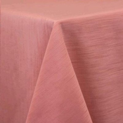 "Round Tablecloth 96"" Majestic Coral picture 1"