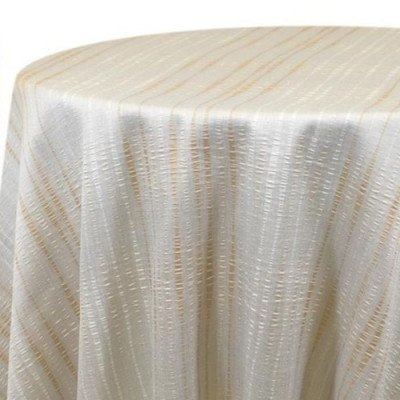 Tablecloth 90X156 Striae Ivory picture 2