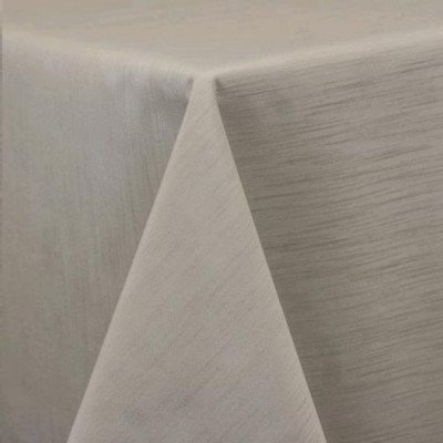 """Round Tablecloth 96"""" Majestic Ivory picture 1"""