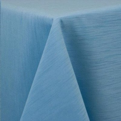 """Round Tablecloth 96"""" Majestic Light Blue picture 1"""