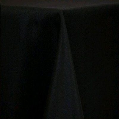 """Round Tablecloth 120"""" Poly Black picture 1"""