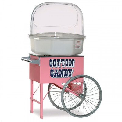 Machine With Dome With Cotton Candy Sugar, Blue Raspberry picture 1