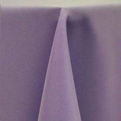 "Round Tablecloth 96"" Poly Amethyst picture 1"