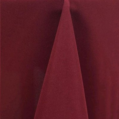 Overlay 90X90 Poly Burgundy picture 1