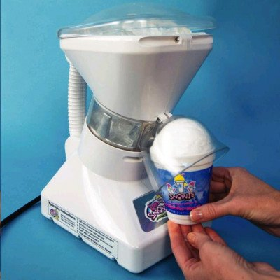 Deluxe Ice Shaver With Snow Cone Syrup, 750 Ml Blue Raspberry picture 3